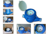 Plastic Multi Jet Water Meter Domestic Super Dry Dial Cold Type LXSG-15P